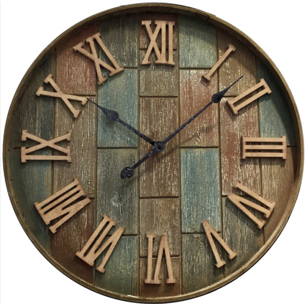 pin by ljm on clocks wall clock clock brick wall on wall clocks id=11648