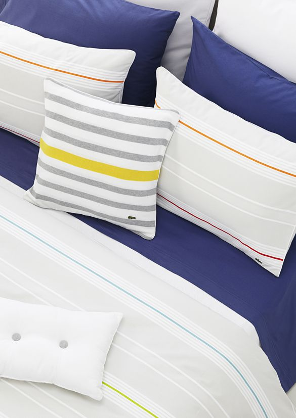Lacoste Home Collection Ss13 With Images Home Bed Pillows