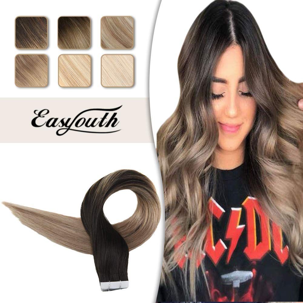 Tape in Hair #humanhairextensions
