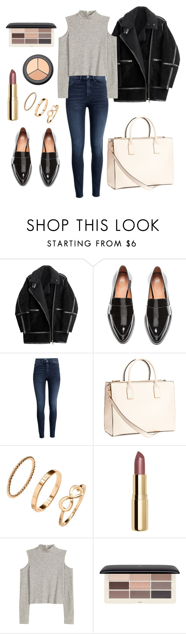 """ONE BRAND: H&M"" by darnelll ❤ liked on Polyvore featuring H&M"