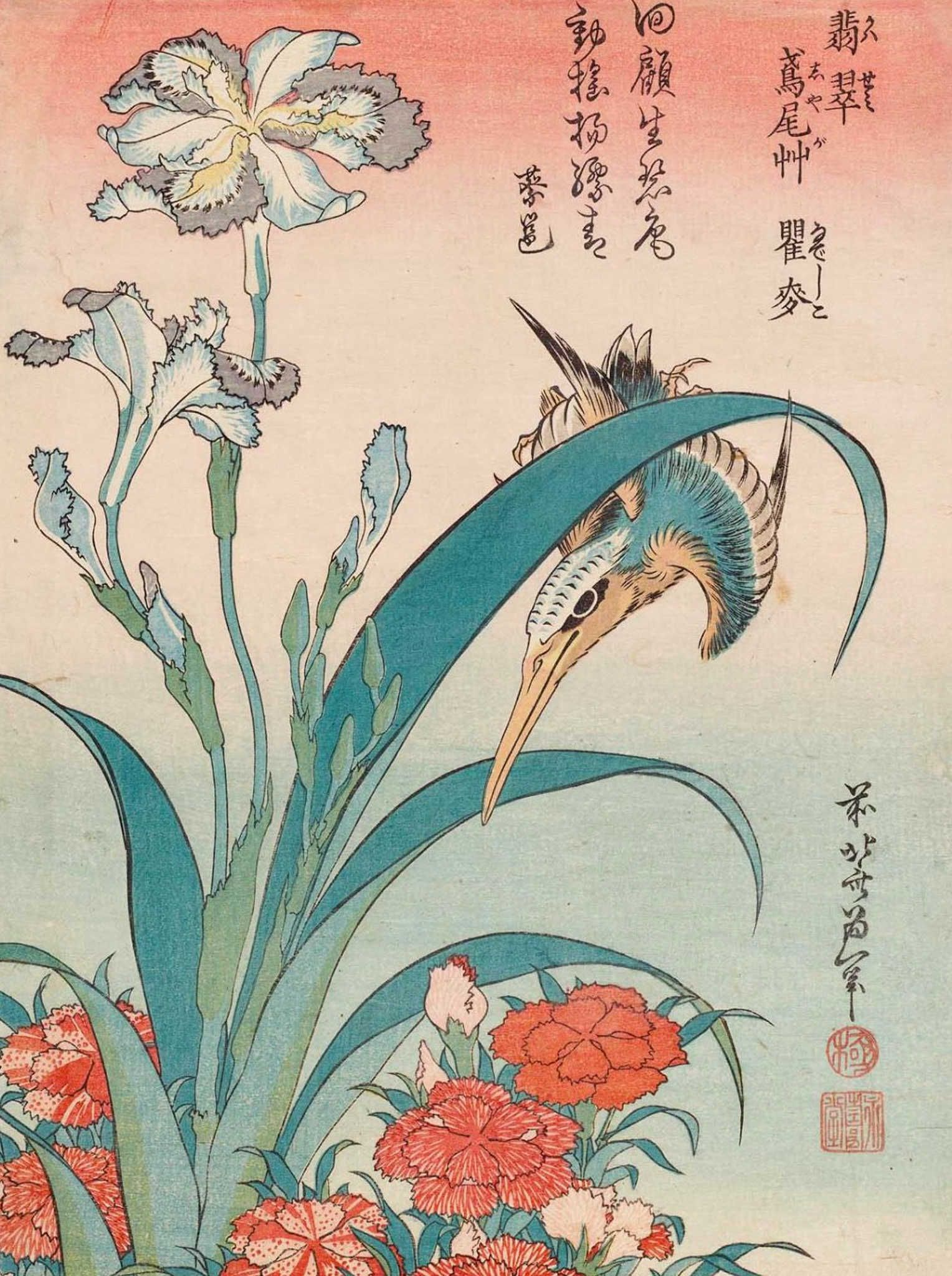Hokusai paintings gallery discover learn print share