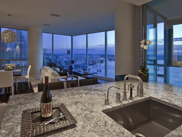 Seattle condo | Luxury homes, Condo living, Condo decorating