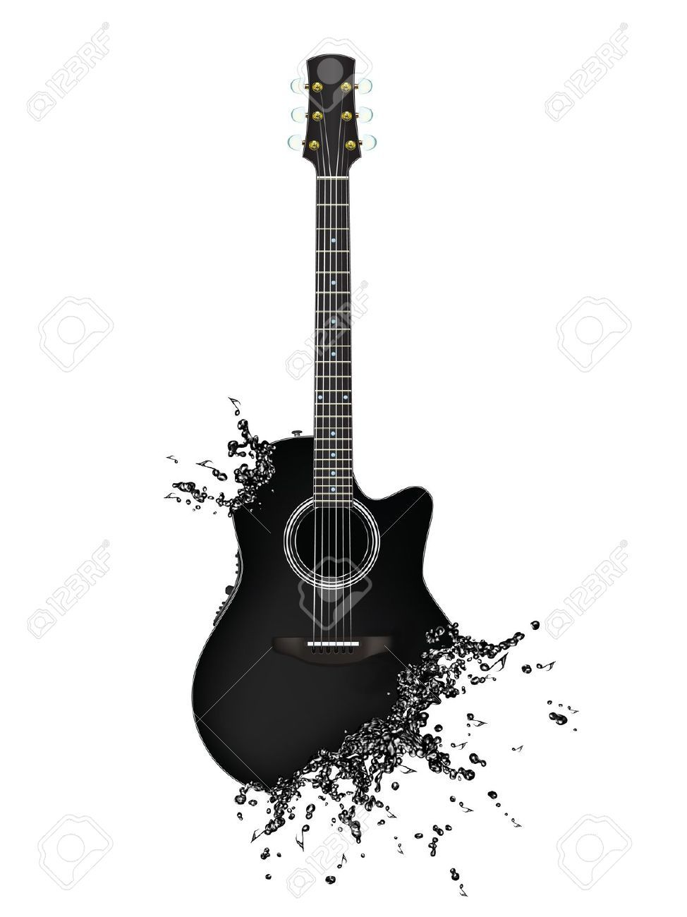 Guitar Silhouette Google Search Guitar Art Music Artwork Guitar Tattoo