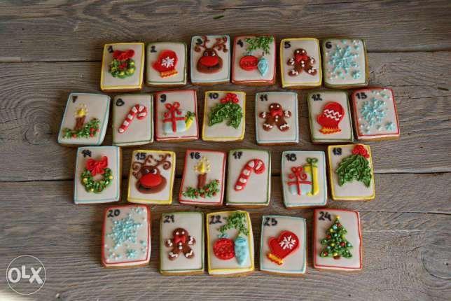 Kalendarz adwentowy pierniczki ciasteczka Boże Narodzenie Turza Śląska - image 3