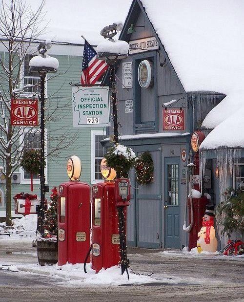 Absolutely Love It 50 S Christmas In Small Town Usa Fab Fifties