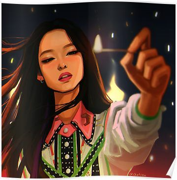Playing With Fire Poster Products In 2019 Blackpink