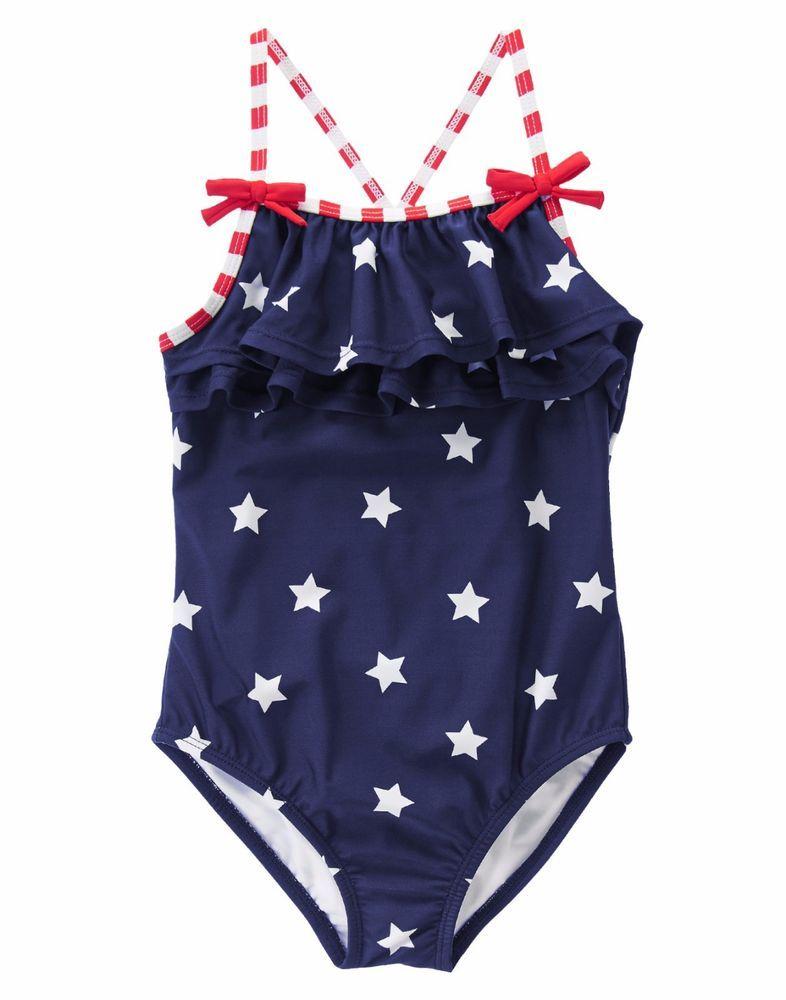 67867b63f4eb Girls' Clothing (Newborn-5T) Baby & Toddler Clothing NWT Gymboree Girls  Swim Swimsuit Bathing Suit NEW ...