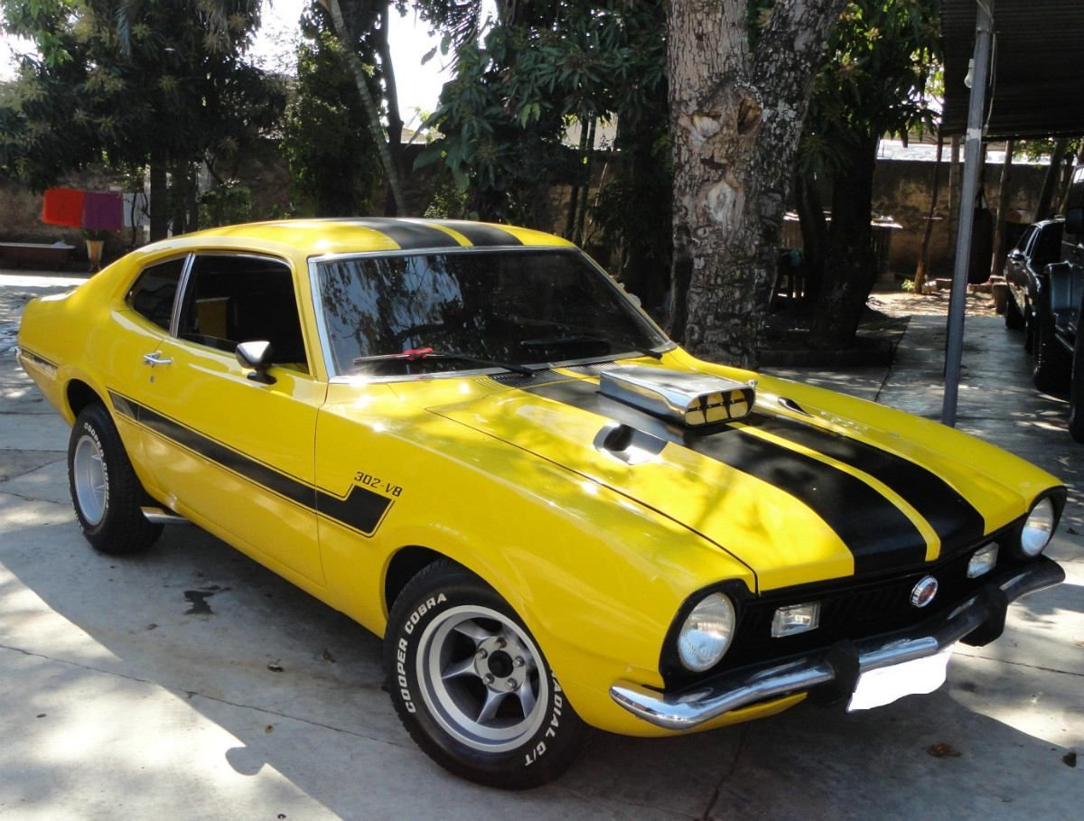 Maverick Gt 302 V8 Cool Car Pictures Vintage Muscle Cars Ford