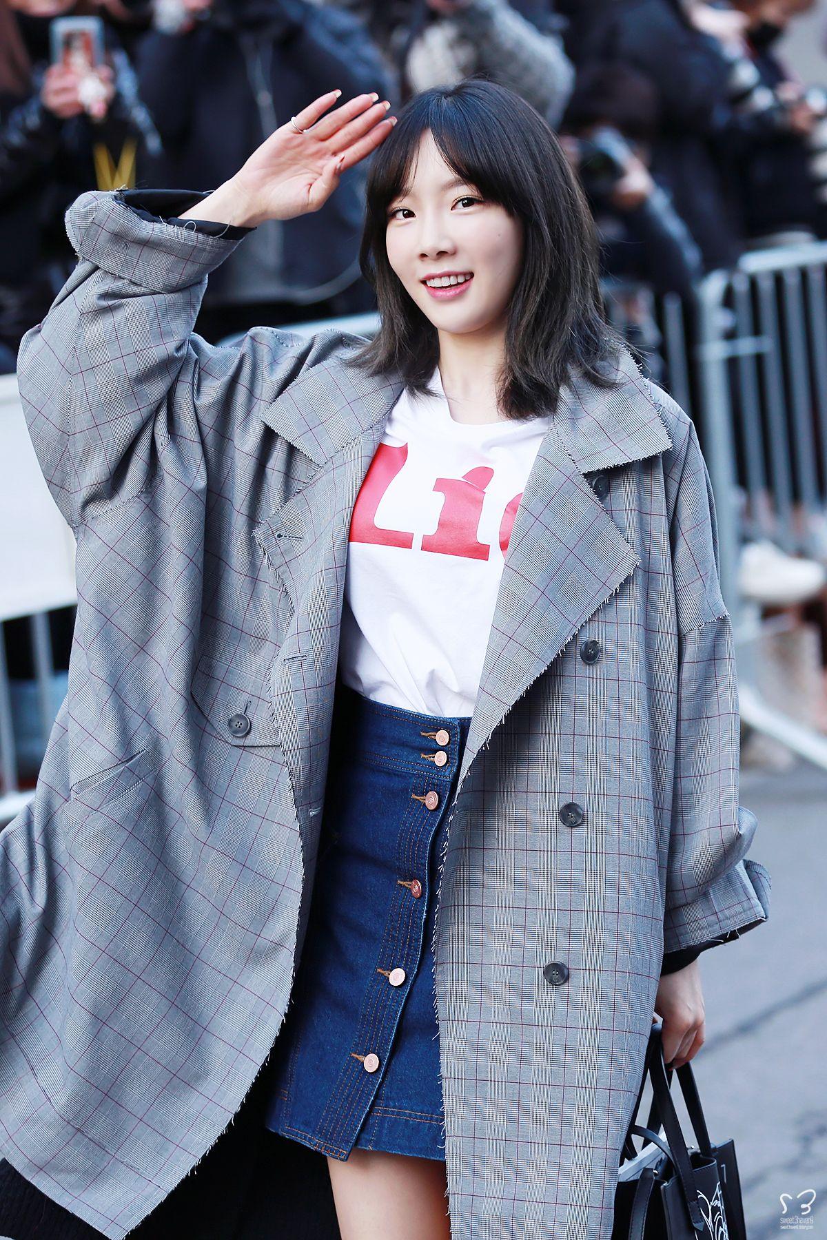 snsd taeyeon fashion style snsd airport fashion