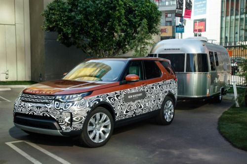 Land Rover Discovery Advanced Trailer Assist Pictures Land Rover Land Rover Discovery Airstream Caravans