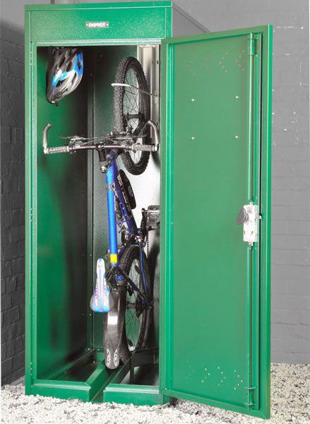 Asgard Vertical Bike Locker 2 4 X 3 6 Outdoor Bike Storage Bike Locker Bike Storage