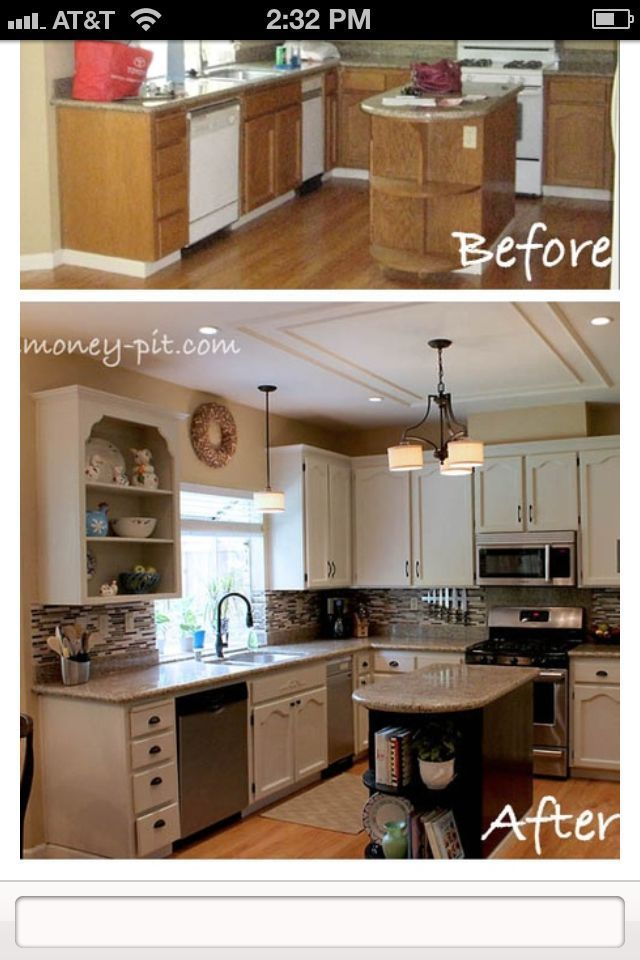 How To Paint Your Kitchen Cabinets Without Losing Your ...