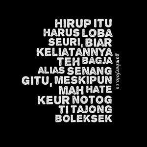 Gambar Kata Mutiara Bahasa Sunda Kahirupan Quotemutiara