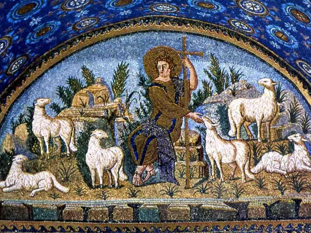 Good shepherd funeral home rome ga - Christ As Good Shepherd Mausoleum Of Galla Placidia
