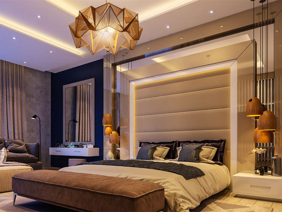 The Typical Modern Luxury Bedroom The Oak Pendant Lamp In The Bed On Both Sides Https Cheer Luxury Bedroom Master Luxurious Bedrooms Modern Luxury Bedroom