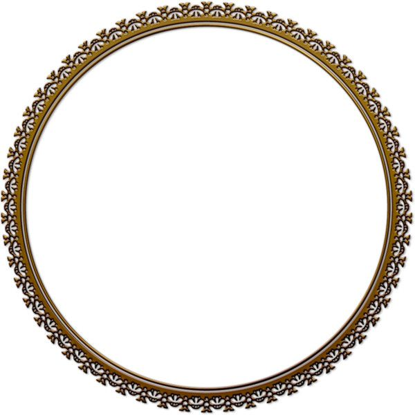 circle frame ❤ liked on Polyvore featuring frames, circles, round ...