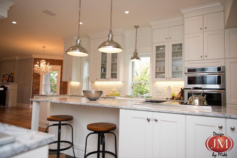 victorian home kitchen remodeled to modern chic design