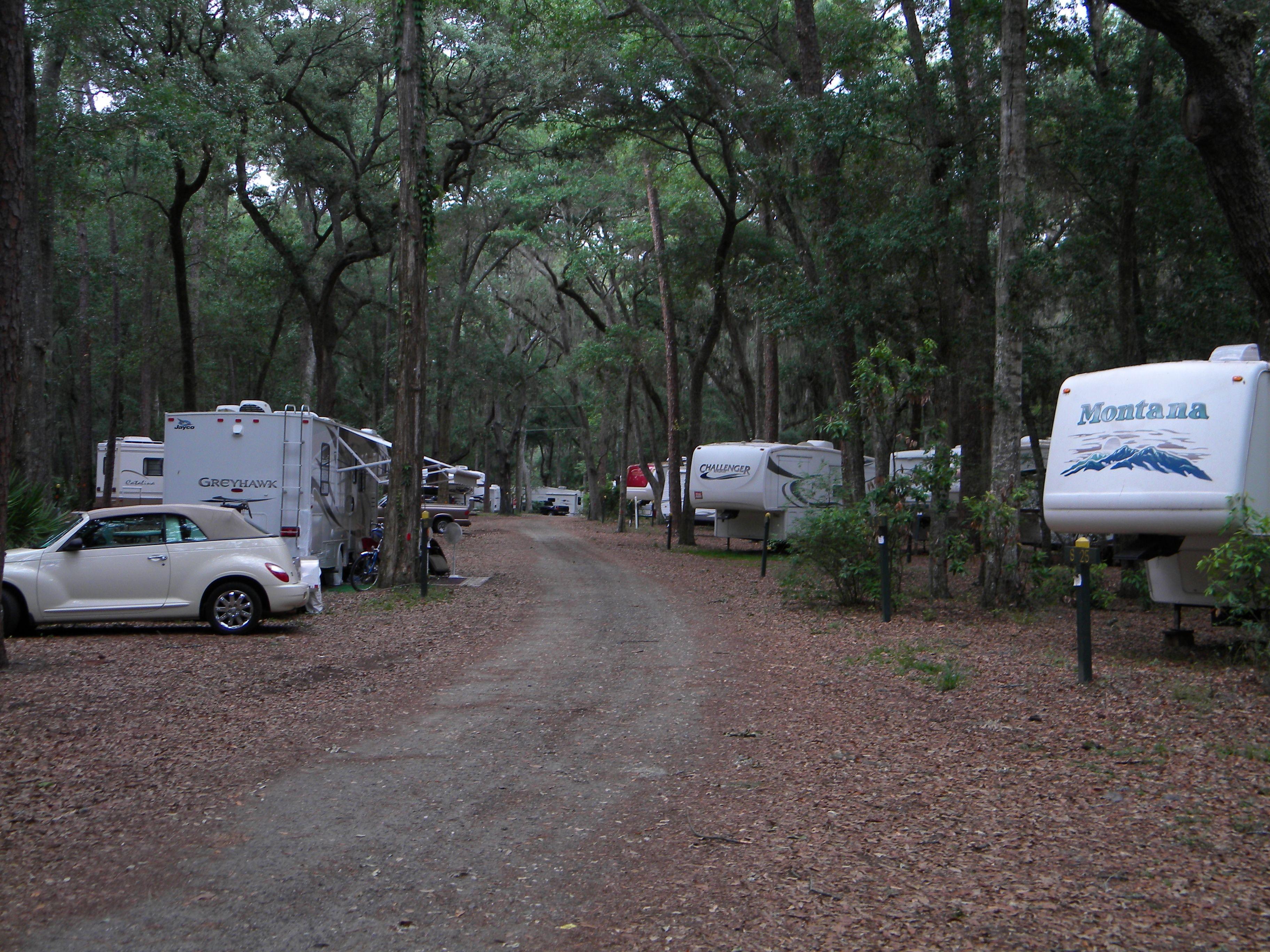 best rv snowbird camping destinations jekyll island campground