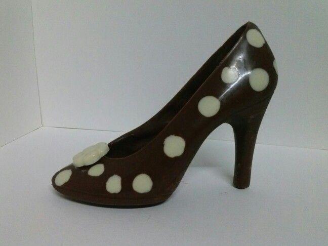 Zapatos En Dos Chocolates Chocolate Tartas Y Zapatos