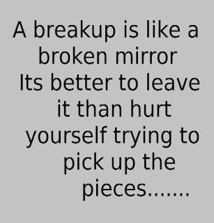 He broke up with me quotes