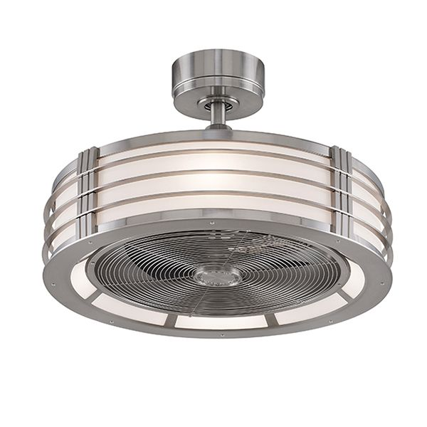 The Bantry Drum Ceiling Fan Modern Ceiling Fan Fan Light