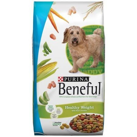 Beneful Dry Dog Food Healthy Weight With Real Chicken 40 Lb Bag
