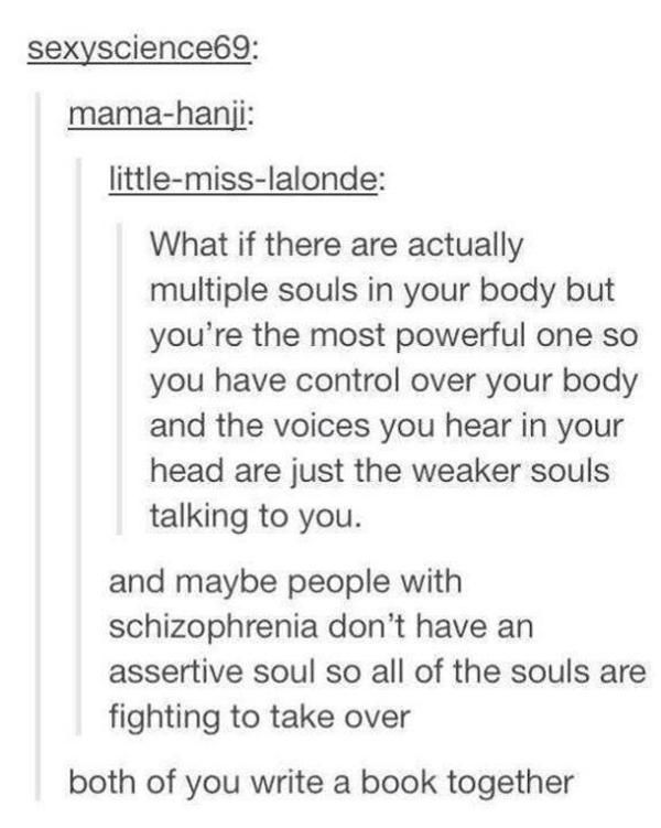 Anyone else think of Persona's Wild Card when reading this? | Tumblr