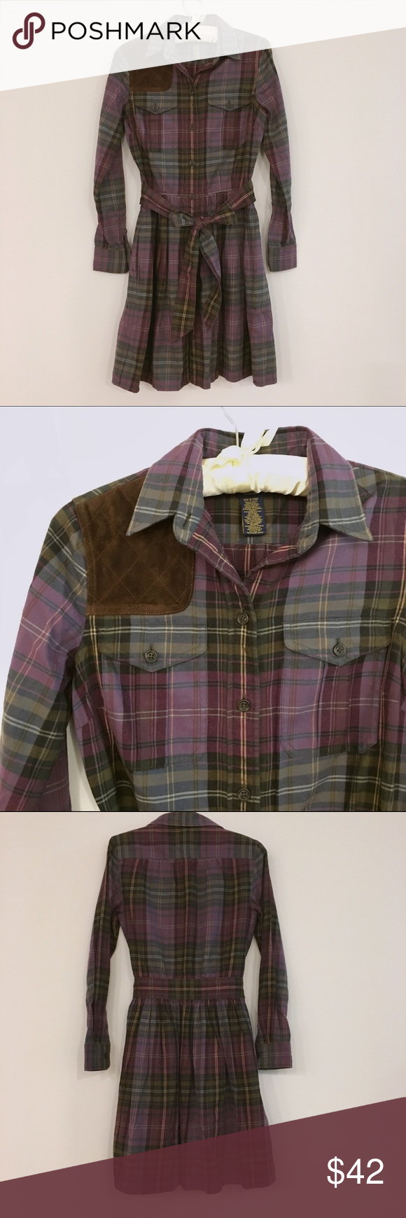 ralph lauren rugby dress Exellent condition. 👍 size us0/ xs Ralph Lauren Dresses Midi