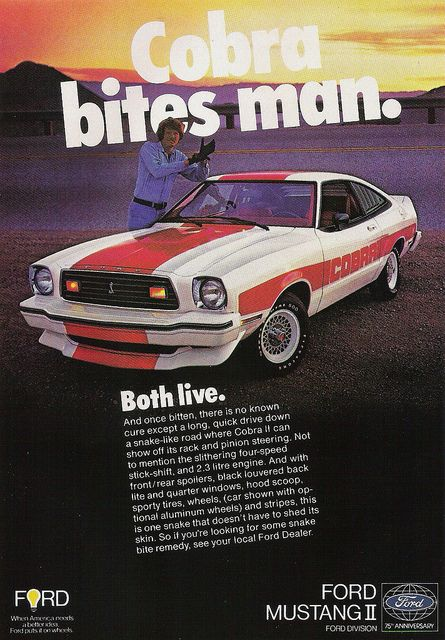 1978 brings  the last official year of the Mustang II. I guess Ford can say they did the best they could considering all the things going on during the 70's. On the horizon, 1979 brings in the fox body years, which will last for nearly 2 decades.