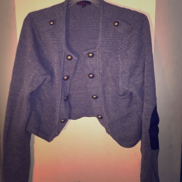 Military style jacket in great condition Grey military style jacket. Great condition and from a smoke free home Jackets & Coats