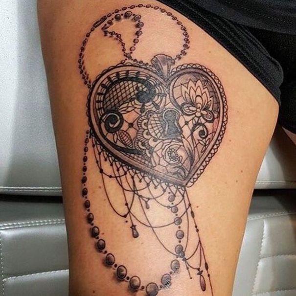 Passende Key & Lock Tattoo-Designs  #designs