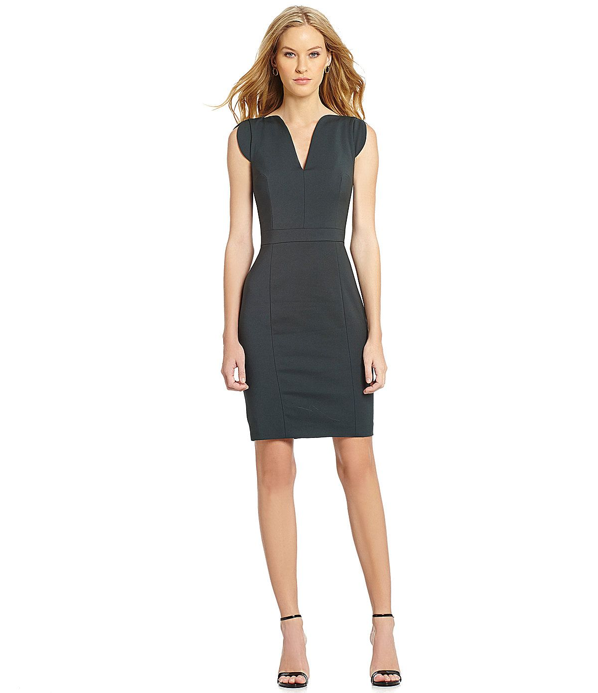 f83b32f76d2 French Connection Lolo Splitneck Dress