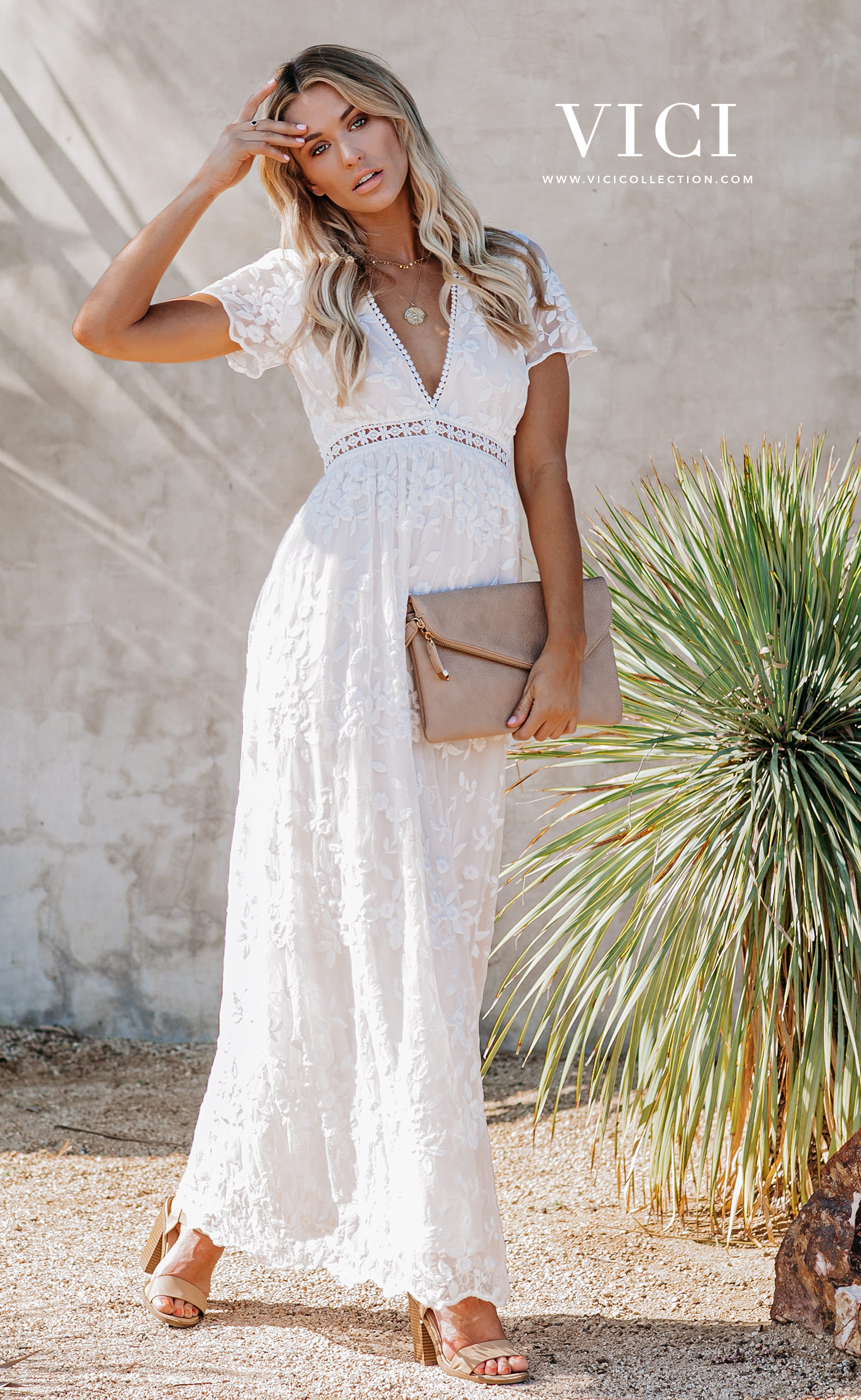Shop Vici Daily New Arrivals That Embody Everything Cozy Chic On Trend Www Vicicollection Com Maxi Dress Lace Maxi Dress White Lace Maxi [ 2438 x 1500 Pixel ]