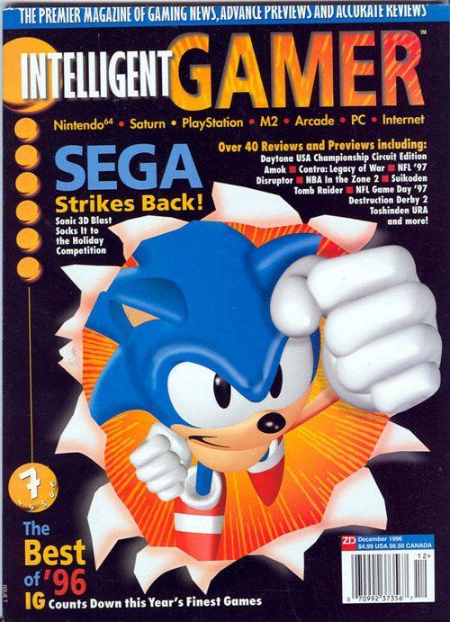 sonic the hedgehog intelligent gamer game magazines pinterest