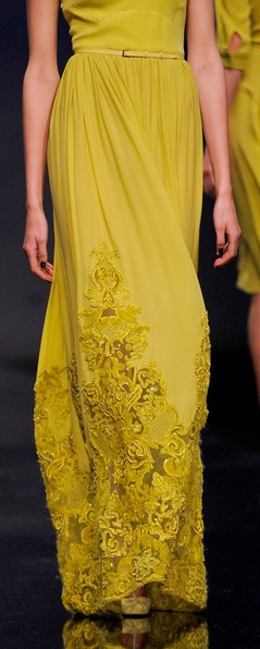 Elie Saab , from Iryna