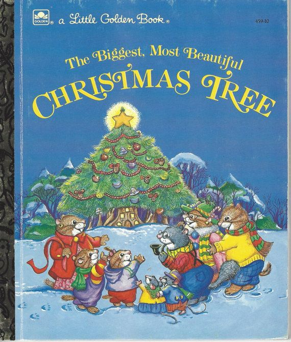 The Biggest Most Beautiful Christmas Tree Little Golden Book In