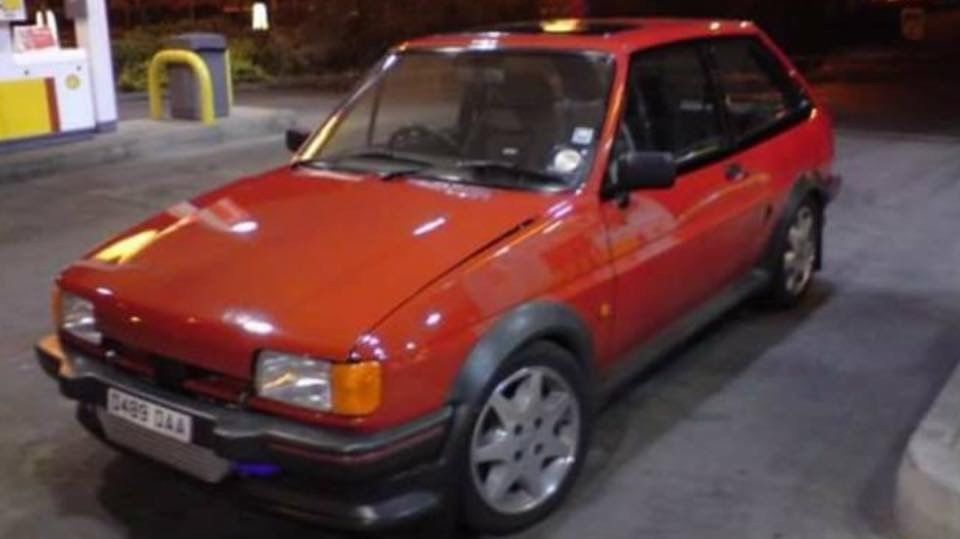 Check Out This Fast Ford Ford Fiesta Mk2 Xr2 Turbo Rolling Shell