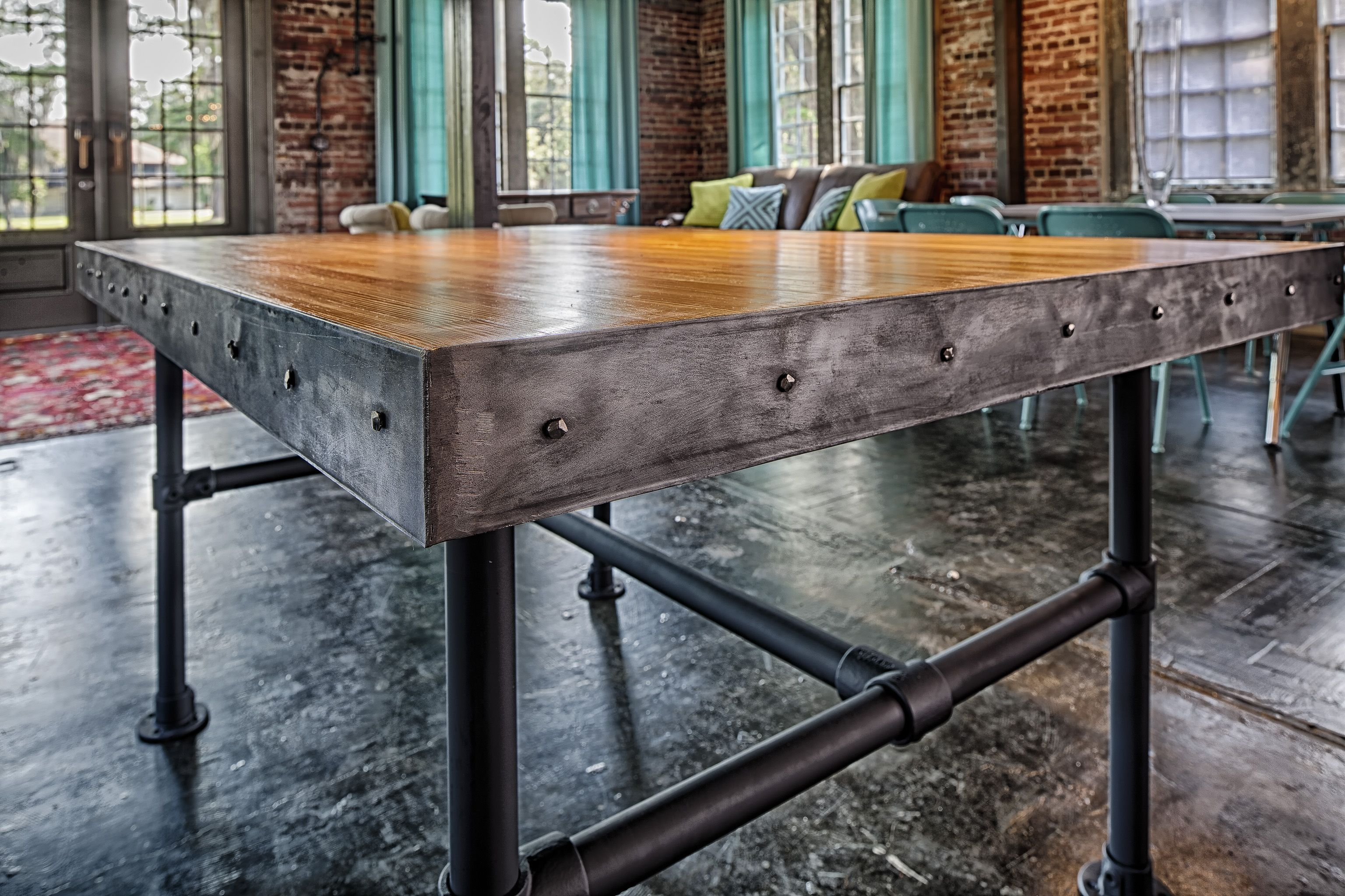 Handmade tables by Victory Lane Tables on Etsy - reclaimed wood form ...