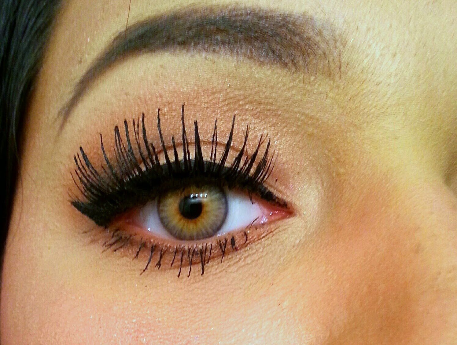 Brown Cat Eye Contacts