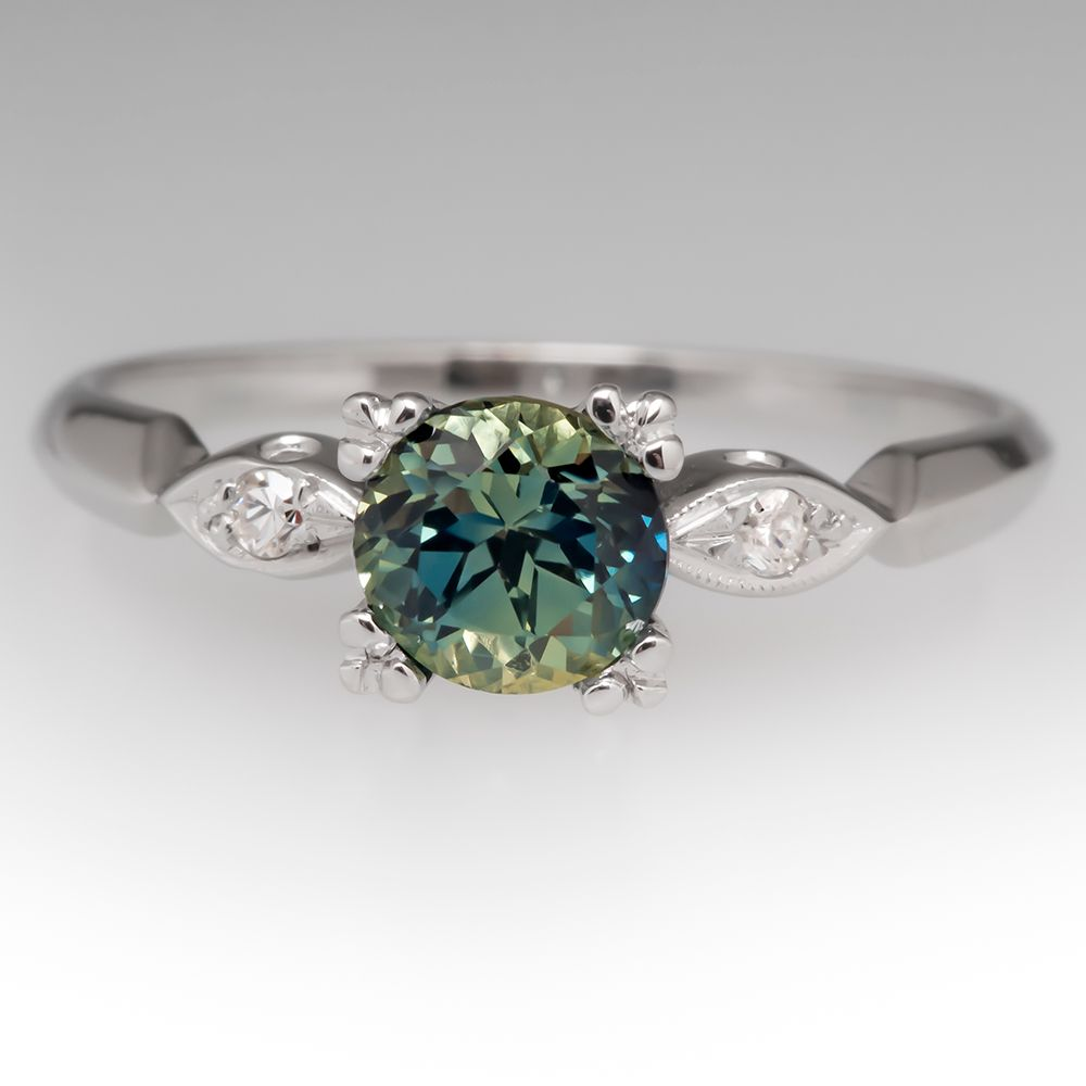 customised blue unique coloured wedding ring rare rings sapphire proposal engagement colour for singapore gemstone green