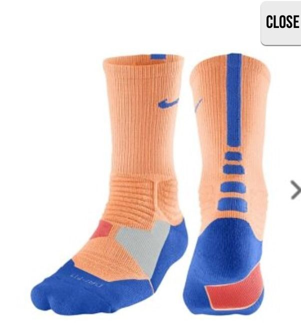 exquisite design buy sale watch NIKE HYPER ELITE crew basketball socks L 8-12 SX4801-824 ...