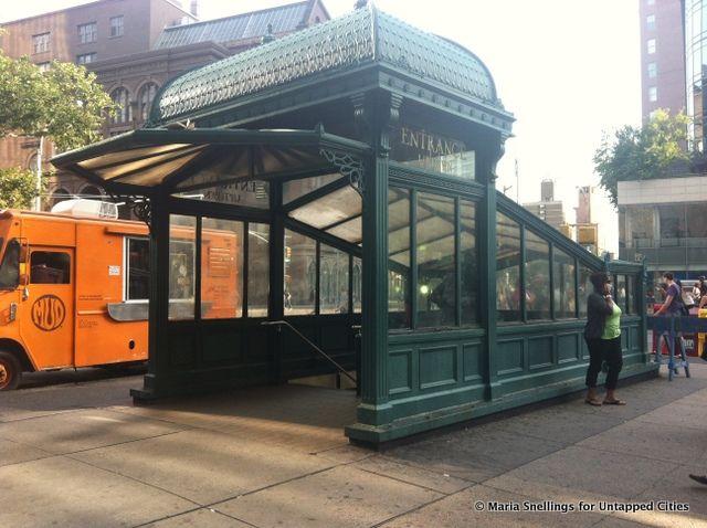 14 Beautiful Vintage Subway Entrances In Nyc