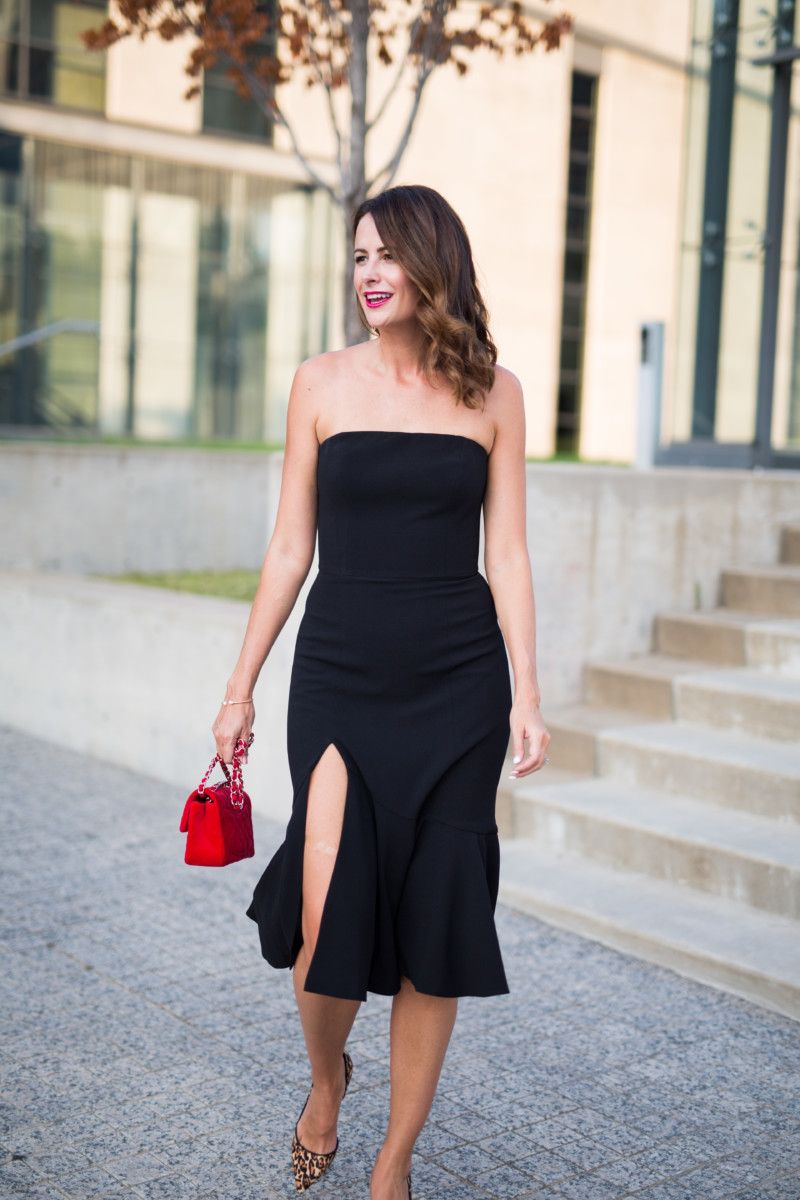 30 black dresses for a wedding guest the miller affect