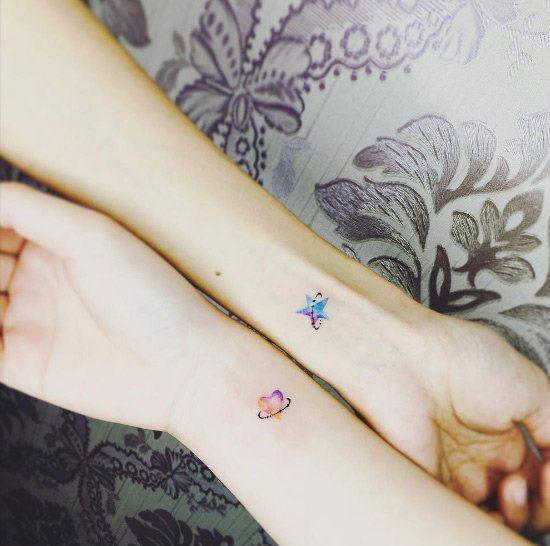 25 Tatuajes Diminutos Tan Delicados Y Sexis Que Te Encantarán