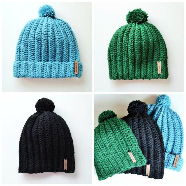 crochet hats, by myworldofwool.com | hats | Pinterest