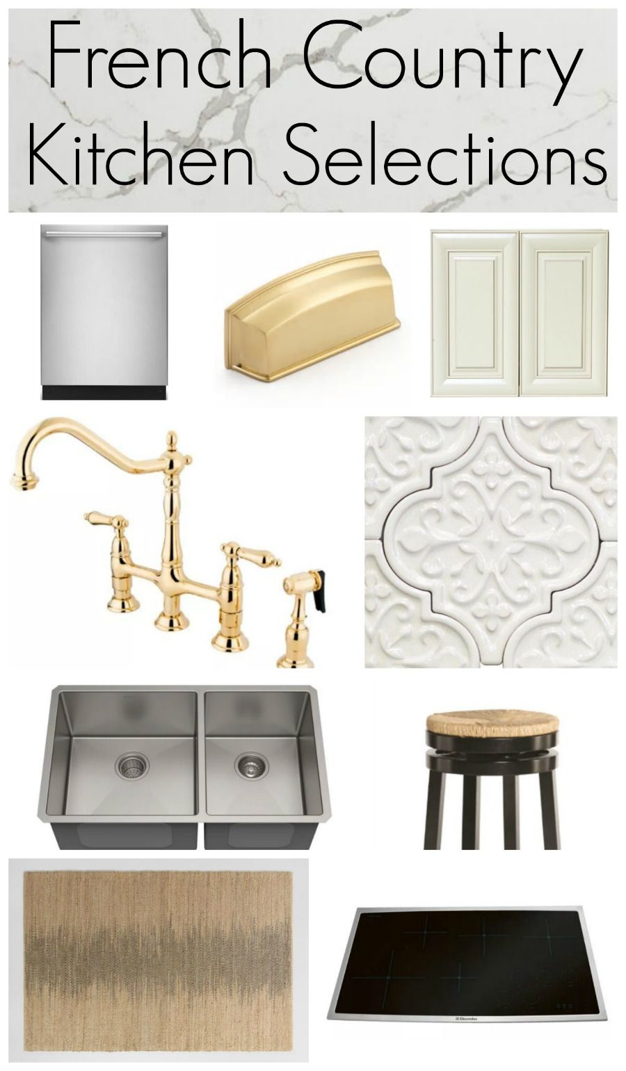 Photo of French Country Kitchen Mood Board – Salvaged Living