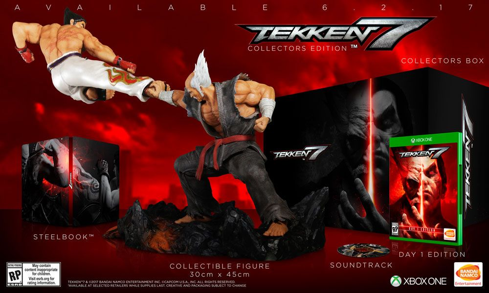 Tekken 7 Collector S Edition For Xbox One Gamestop Already Got Mine Preorded Tekken 7 Xbox One New Online Games