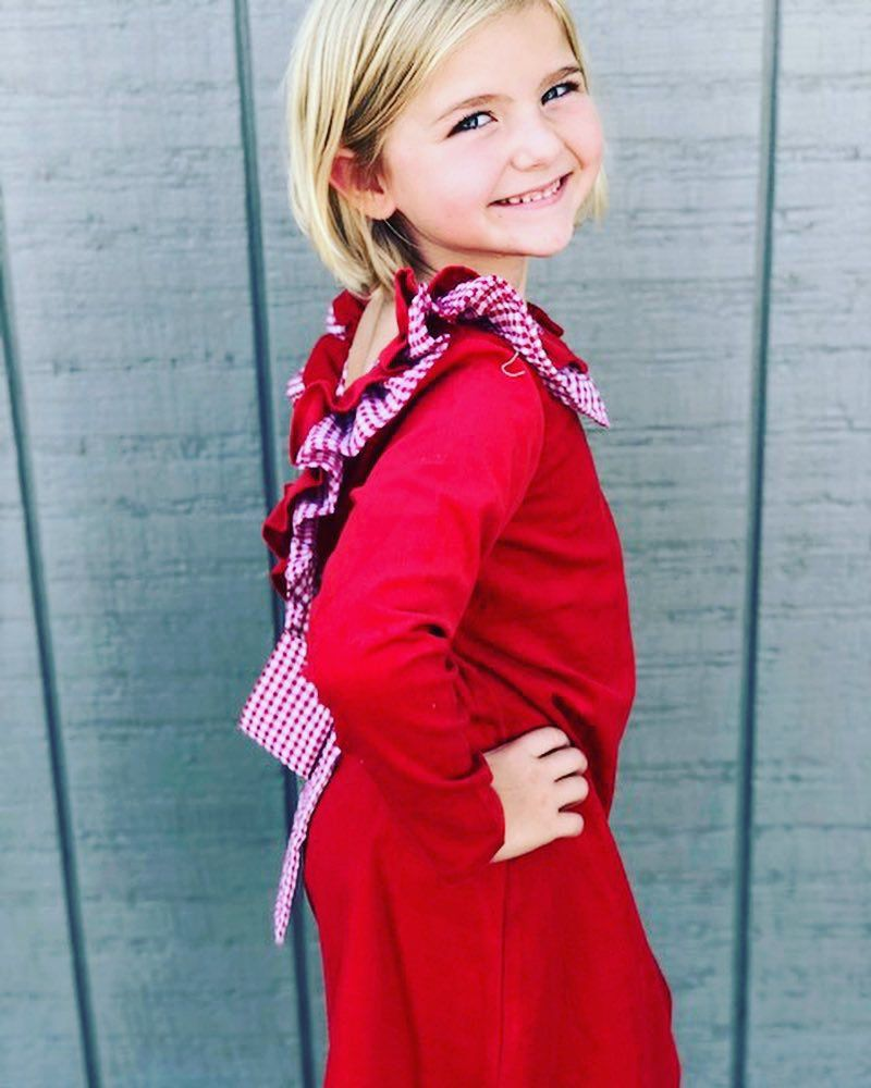 a65909f8569 Cute Red Dresses For Girls