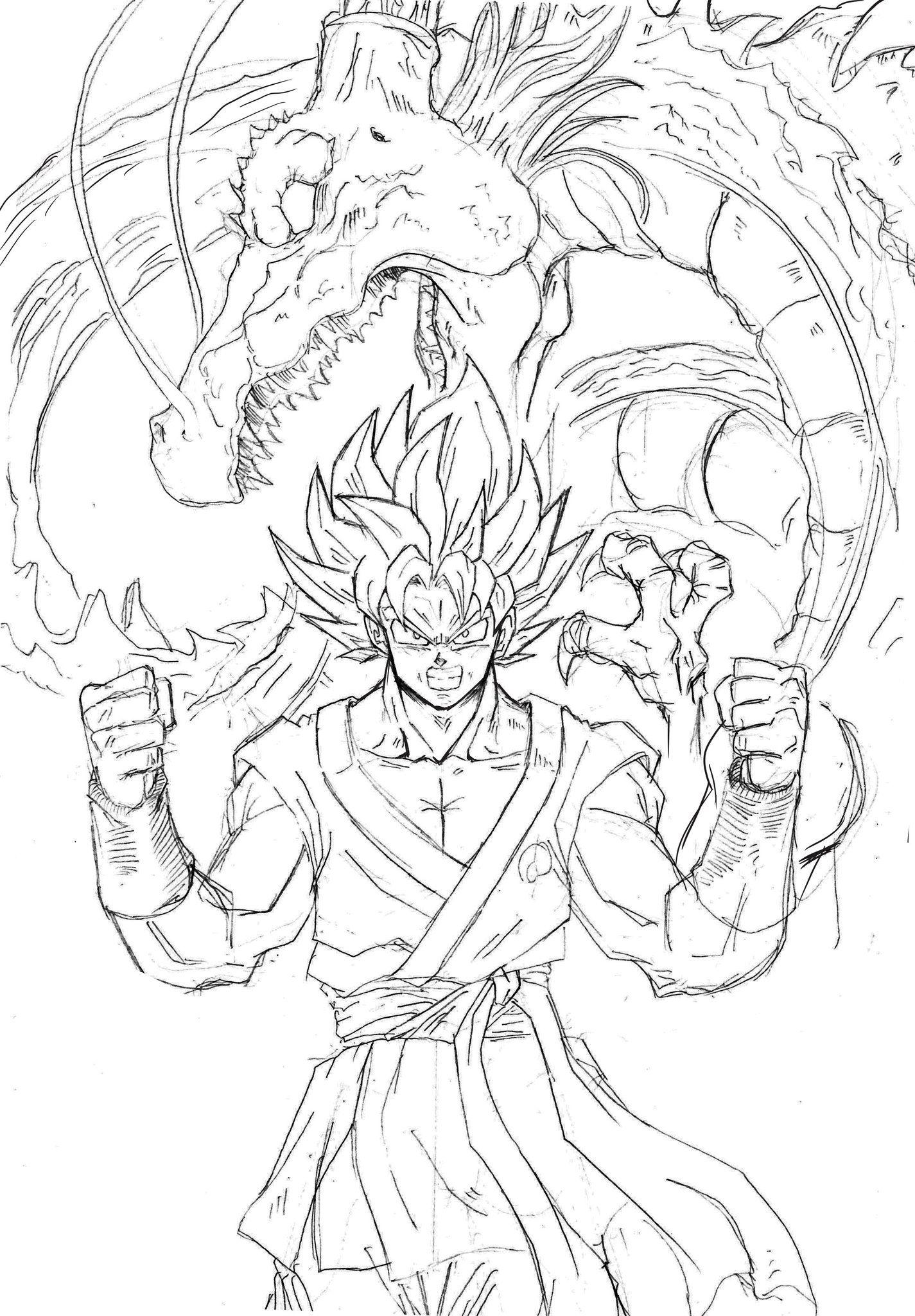 Dragon Dragon Ball Artwork Dragon Ball Art Dragon Ball Super Art