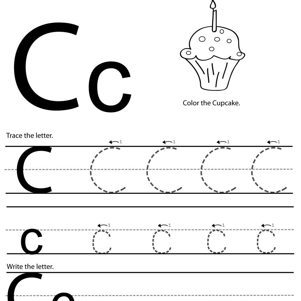 Letter C Worksheets For Learning Letter C Worksheets